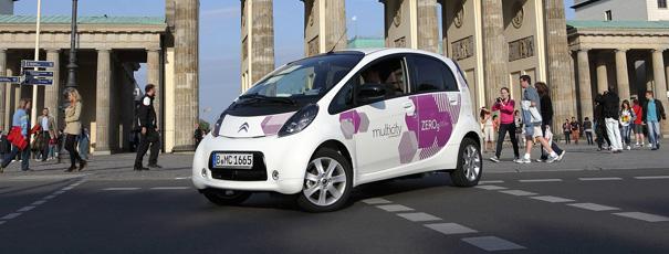 Multicity-Fahrzeug in Berlin