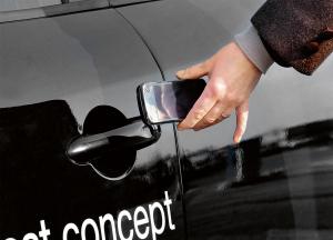 Smartphone als Schlüssel © Continental AG
