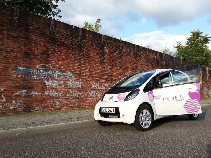 Multicity Carsharing Fahrzeug