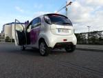 Multicity Carsharing Fahrzeug hinten