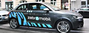 Audi von Zebramobil