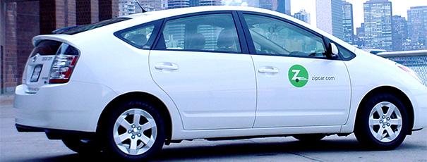 Toyota Prius von Zipcar