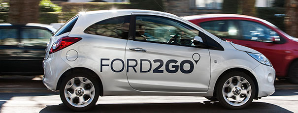 FORD2GO Fahrzeug