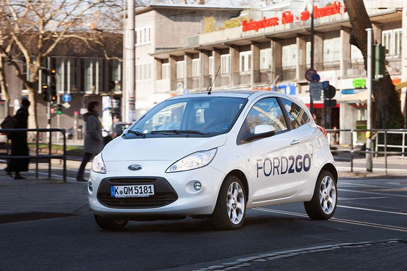 FORD2GO Fahrzeug © Ford