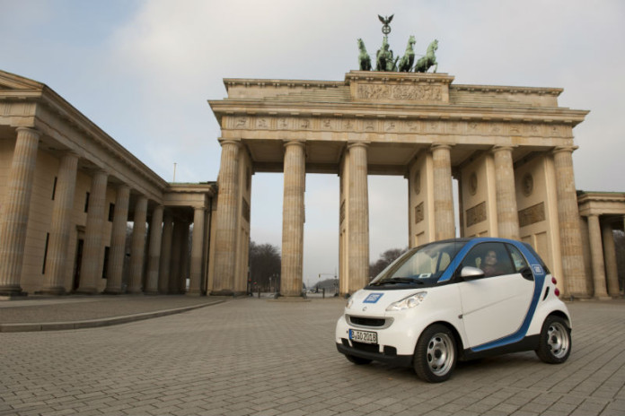 car2go Smart Brandenburger Tor