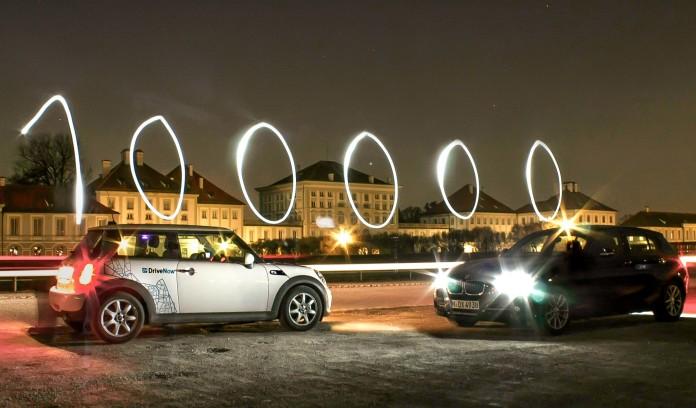 DriveNow feiert 100.000 Kunden