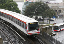 U-Bahn in Hamburg