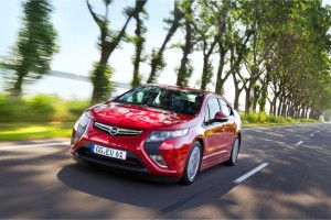 Opel Ampera unterwegs