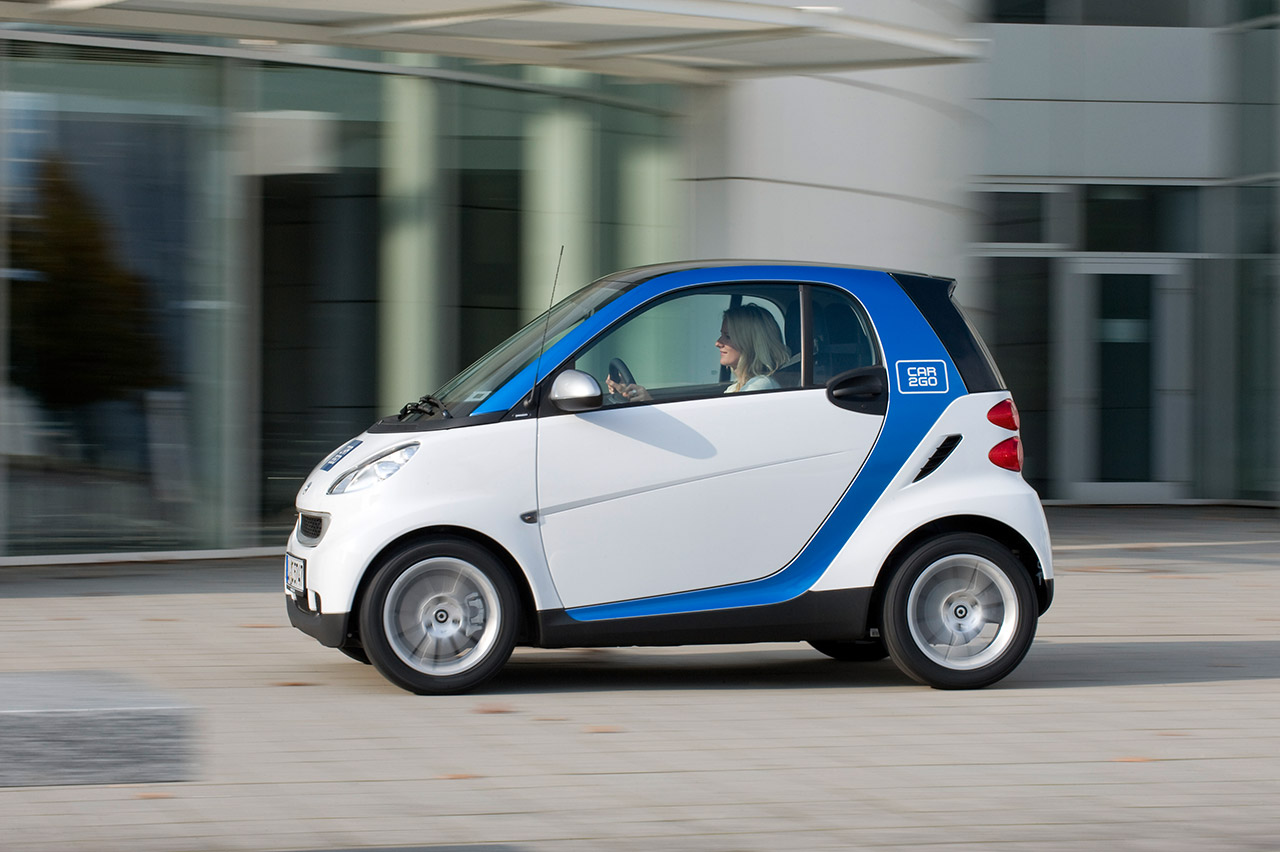 car2go unterwegs