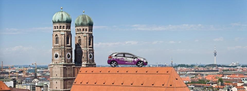 CiteeCar in München