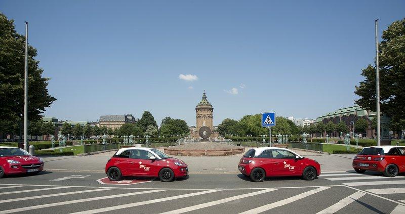 JoeCars unterwegs in Mannheim