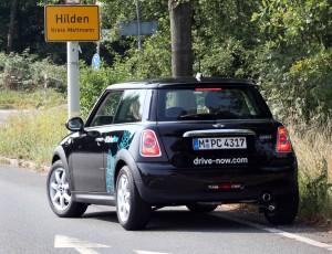 DriveNow Mini in Hilden
