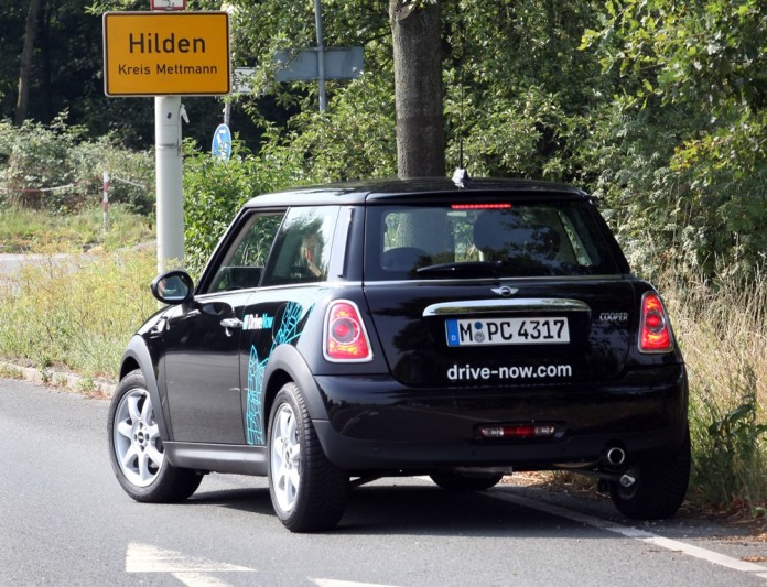 DriveNow Mini in Hilden