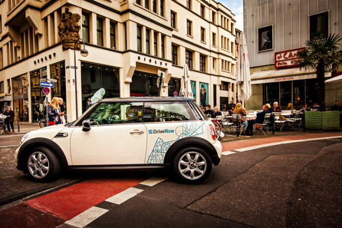 DriveNow Mini in Köln