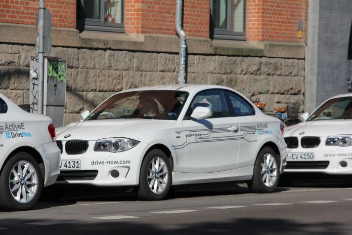 DriveNow BMW ActiveE Flotte