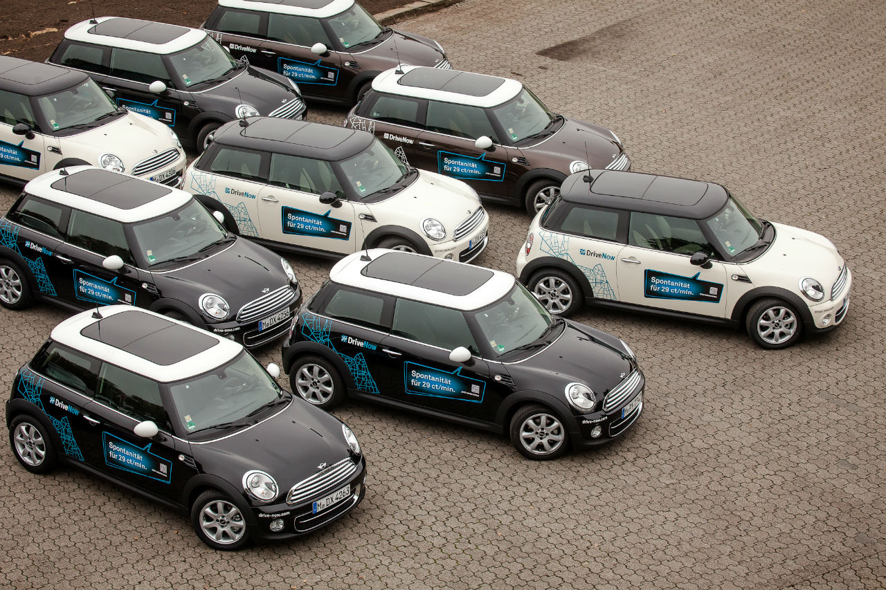 DriveNow Mini Flotte