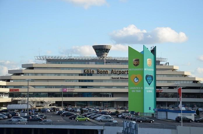 Ansicht auf den Flughafen