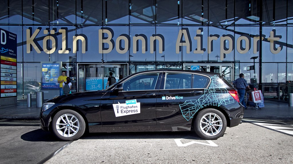 drivenow ab sofort am flughafen k ln bonn carsharing news. Black Bedroom Furniture Sets. Home Design Ideas