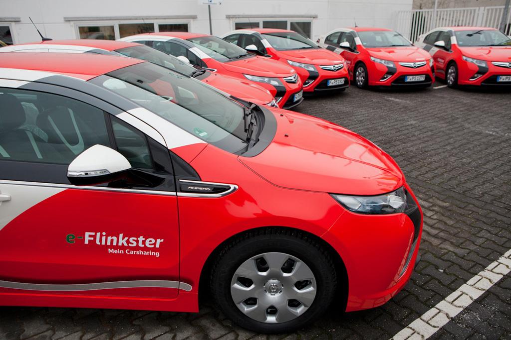 Flinkster Opel Ampera