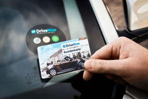 DriveNow Kundenkarte © DriveNow