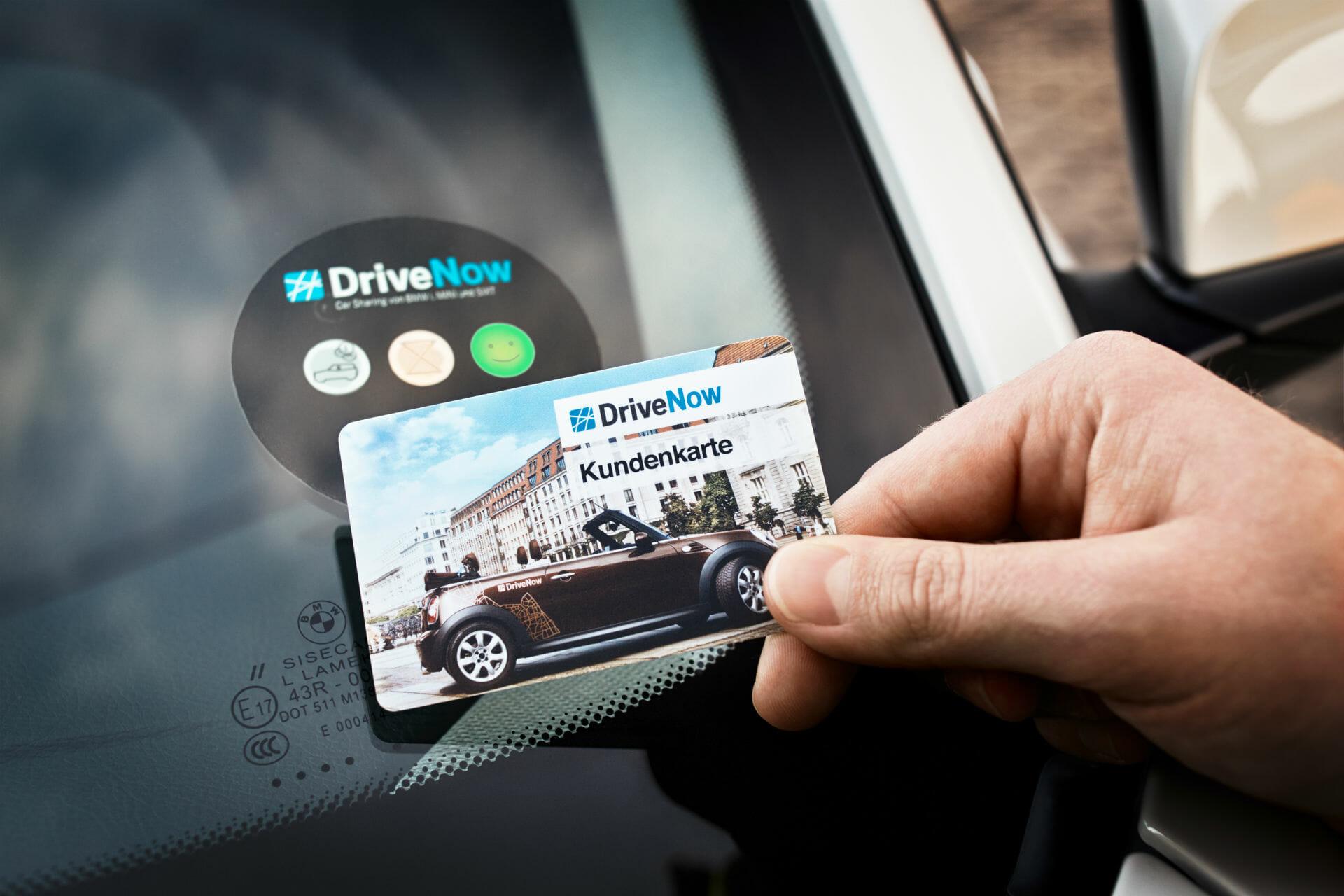 DriveNow Kundenkarte