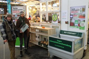 Foodsharing-Stand in Berlin