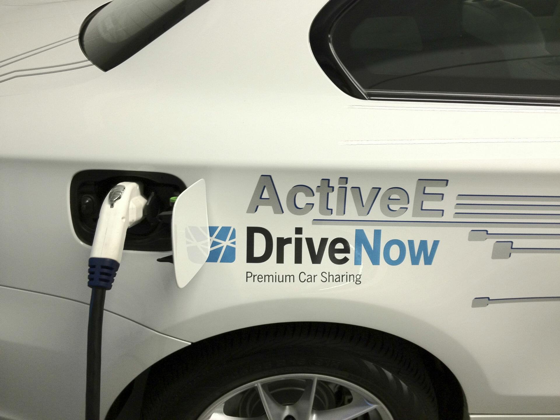 BMW ActiveE Steckdose