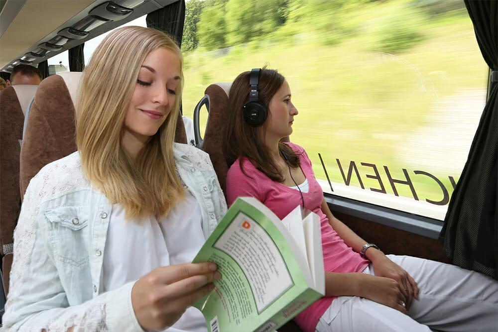 Komfort im Bus
