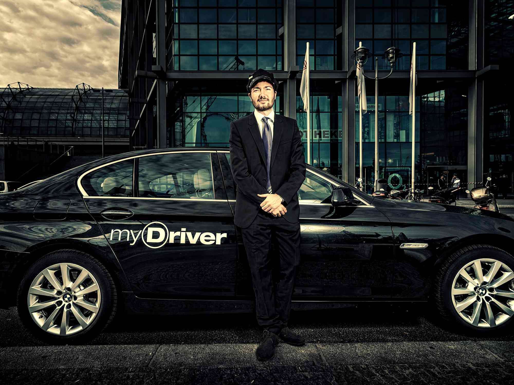 yDriver verfügt über eigenen Pool an Fahrzeugen und Fahrern
