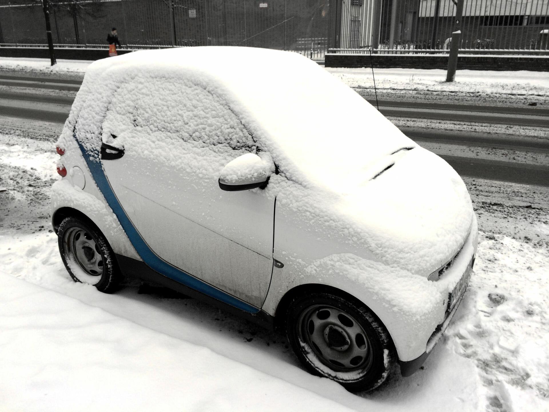 car2go im Schnee