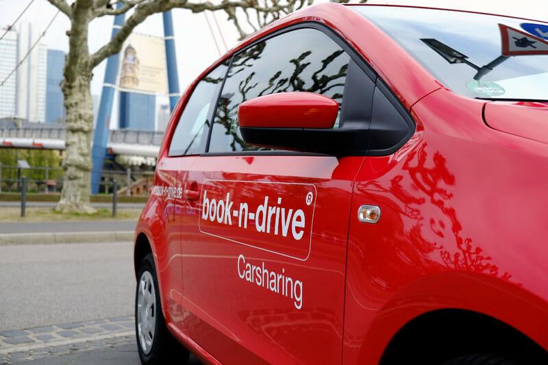 book-n-drive Fahrzeug