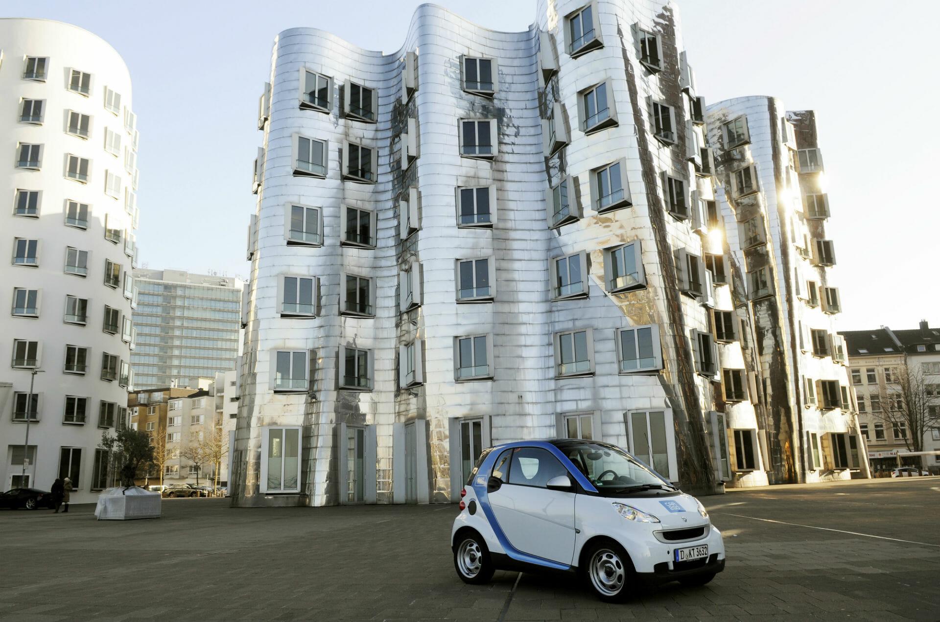 Car2go Erweitert Das Dusseldorfer Geschaftsgebiet Carsharing News