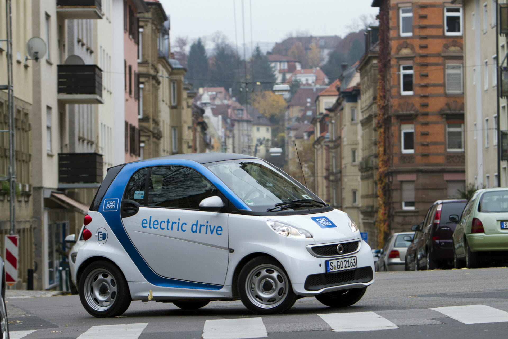 car2go electric drive in Stuttgart
