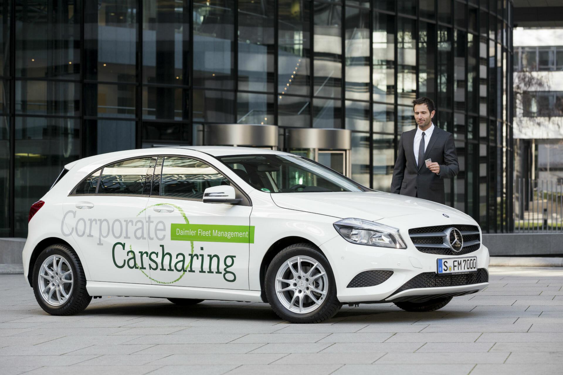 Corporate Carsharing von DFM