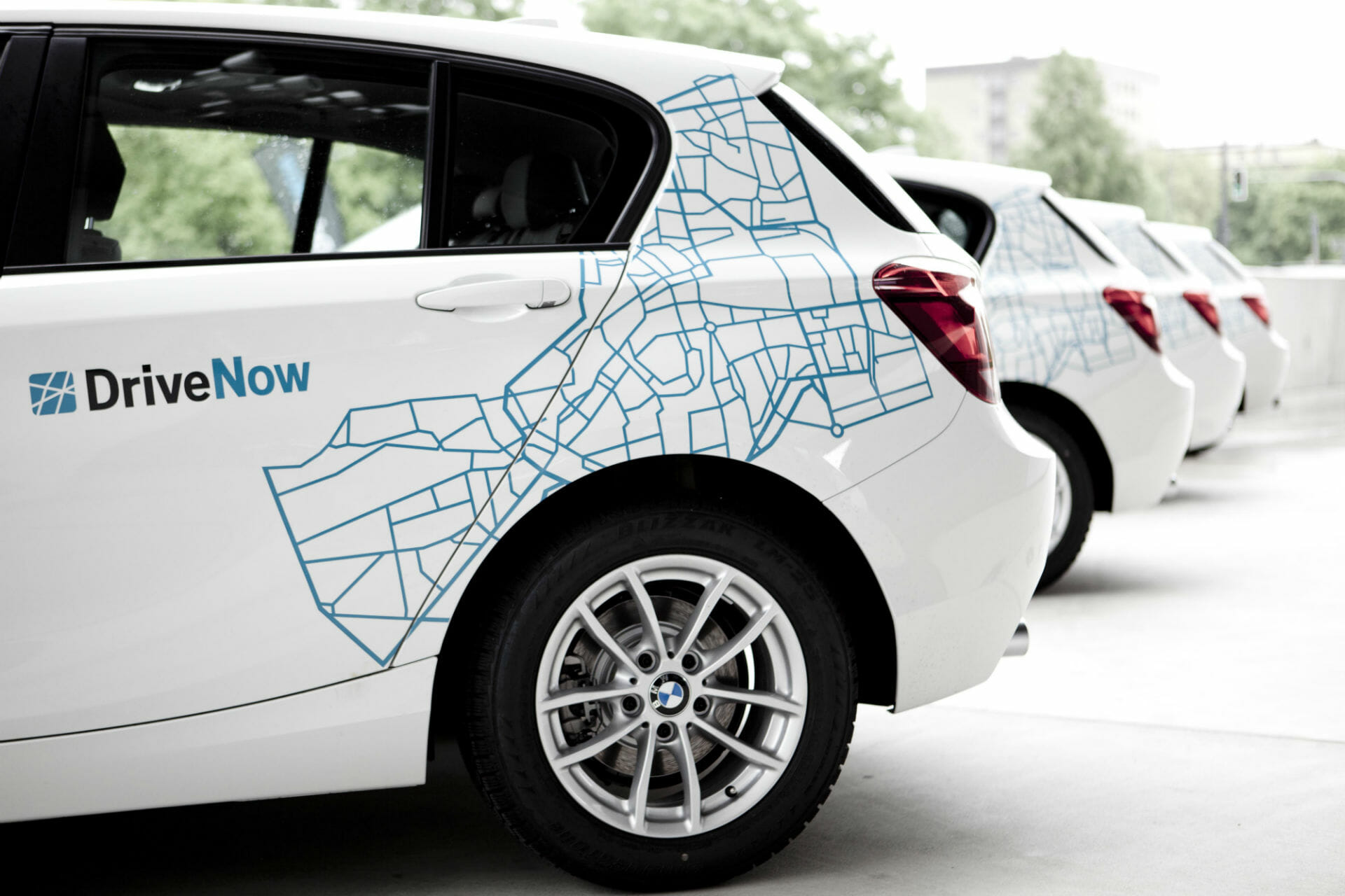 DriveNow BMW 1er