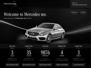 Mercedes me Vorschau