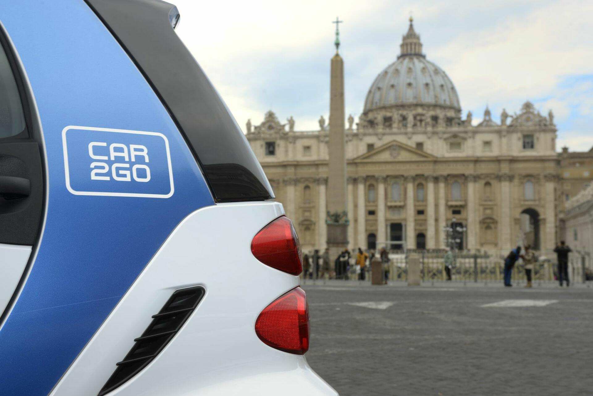 car2go in Rom