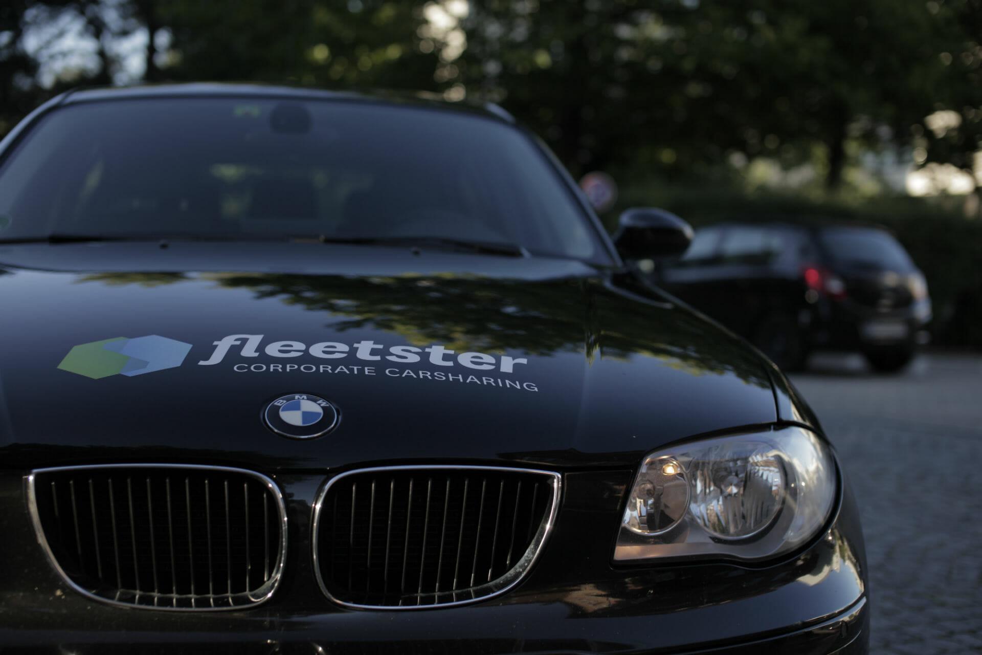BMW mit fleetster Logo