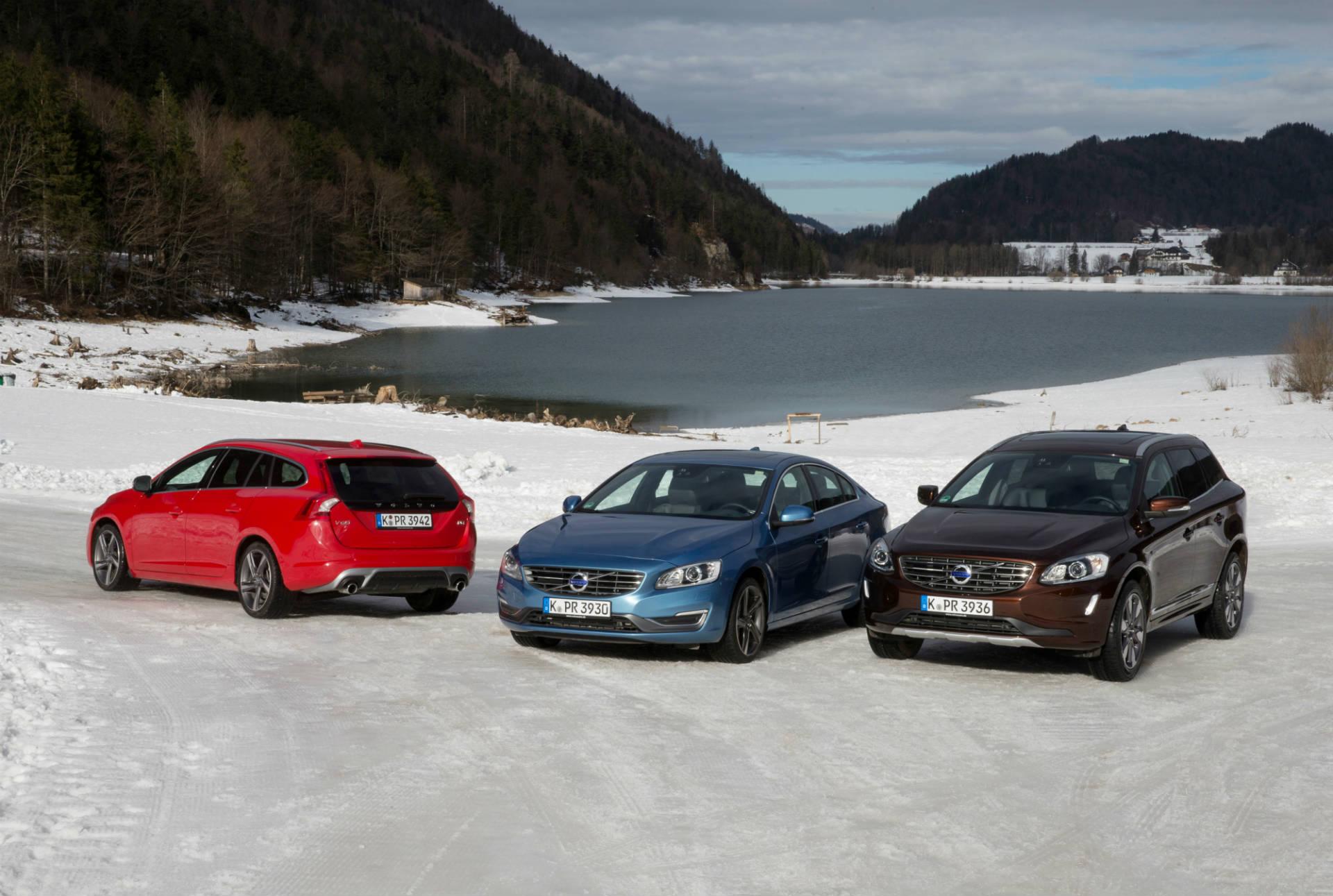 Volvo V60 R-Design, Volvo S60 und Volvo XC60