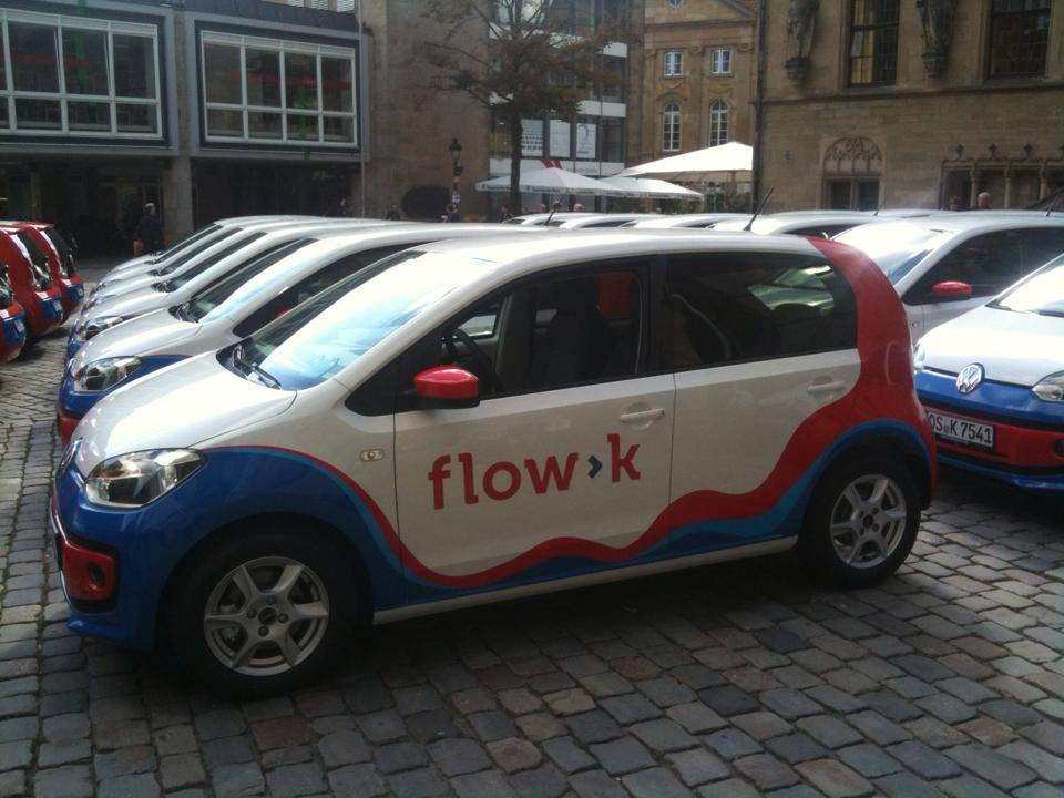 VW Up von flow>k