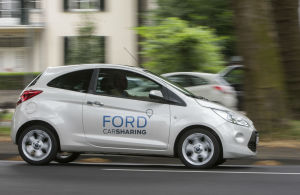Ford Carsharing in Bewegung