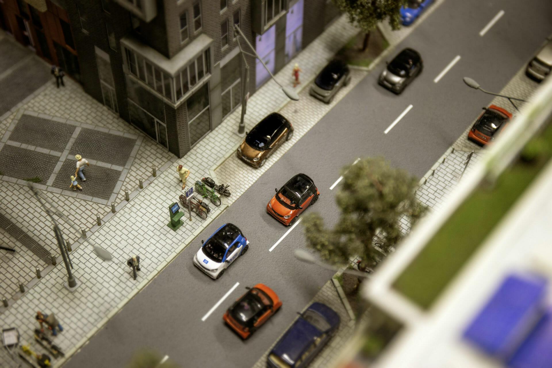 smart 2014 im Miniatur Wunderland Hamburg