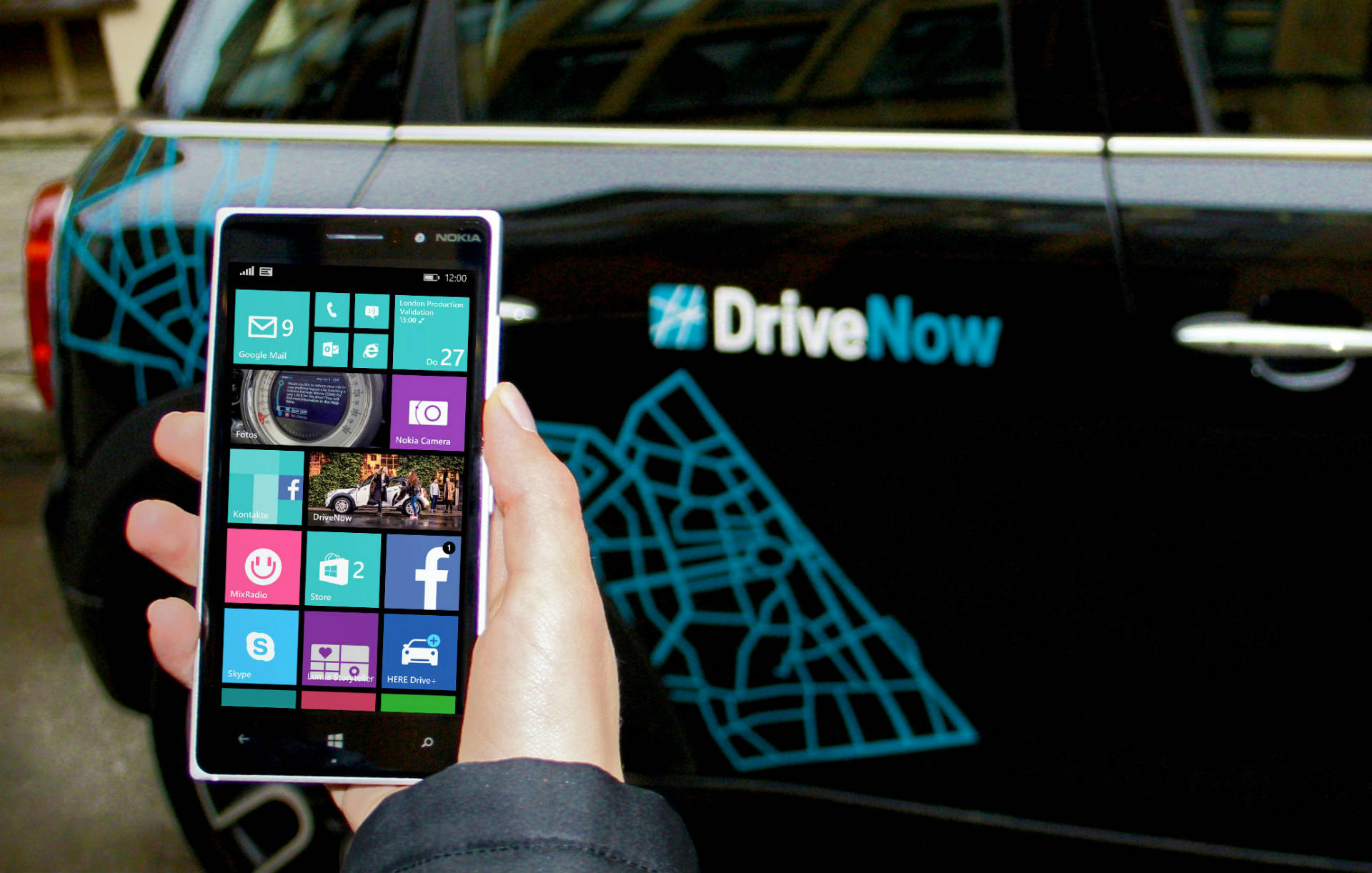 Windows Phone DriveNow App
