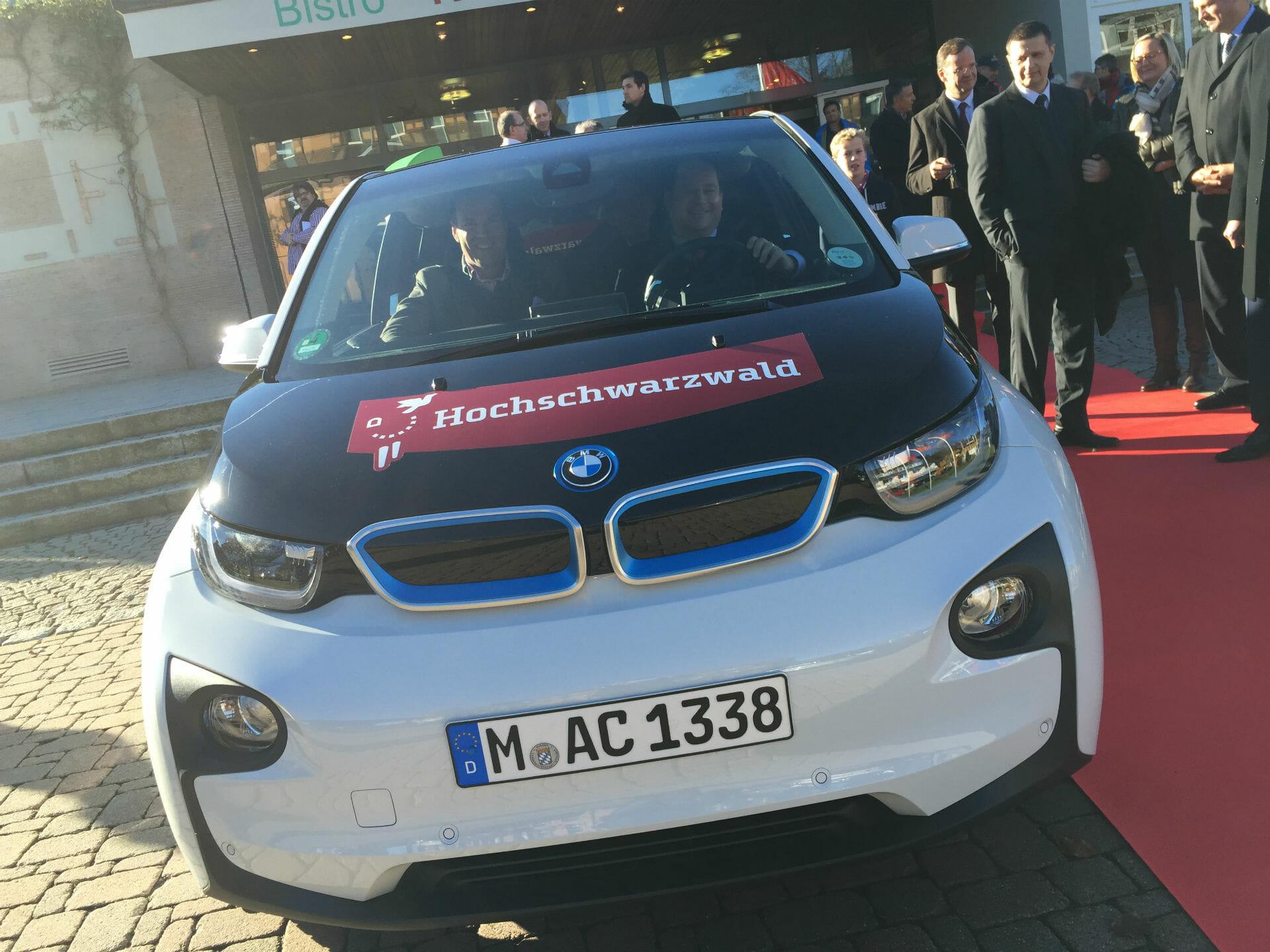 E-Carsharing Hochschwarzwald BMWi3