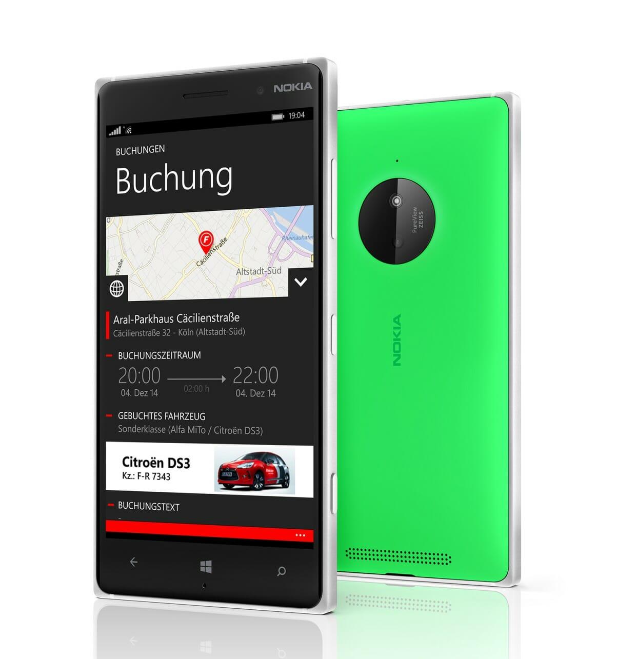 Flinkster-App ab sofort für Windows Phone verfügbar
