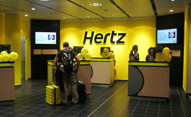 Hertz Station Flughafen München