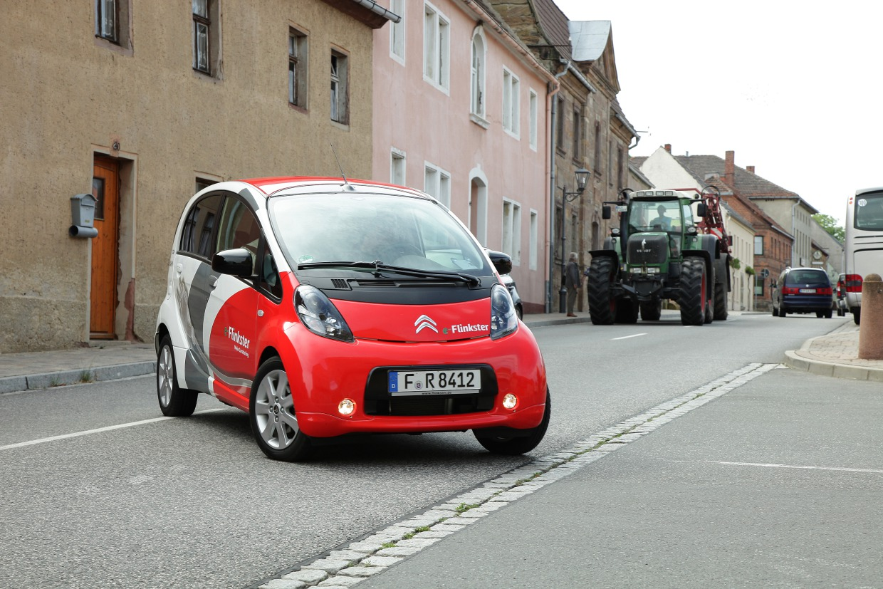 Citroen C-Zero von Flinkster in Nebra