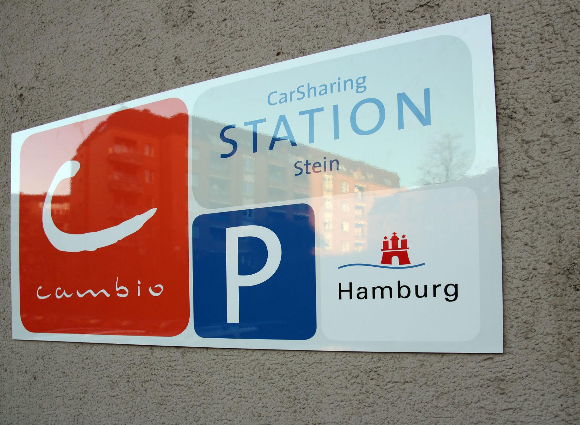 Station Hamburg Stein