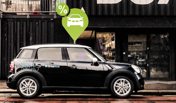 DriveNow Symbol für den neuen Tarif