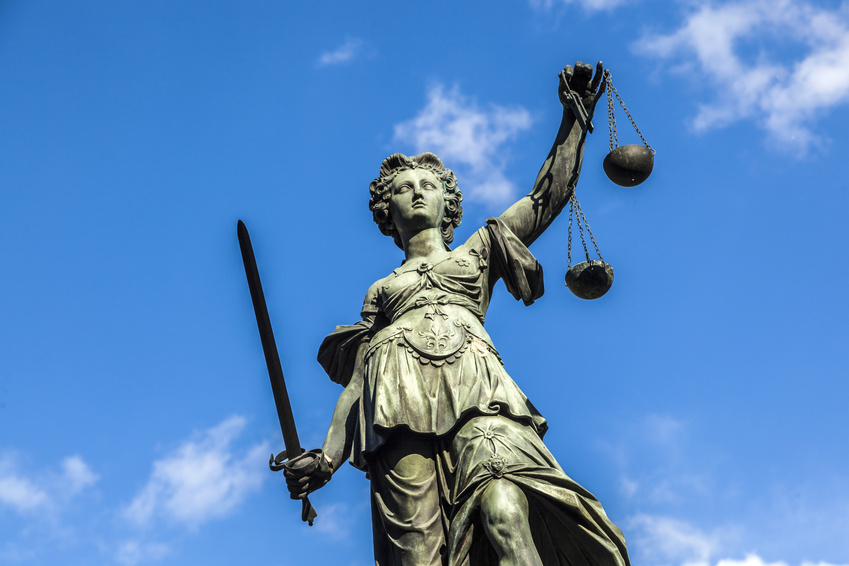 Justitia in Frankfurt